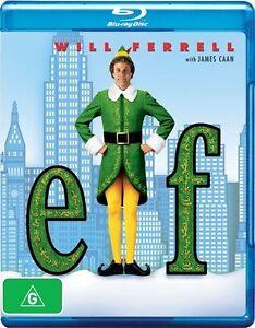 *New & Sealed* ELF (Blu-ray)  Will Ferrell Christmas Comedy, Region B Australia