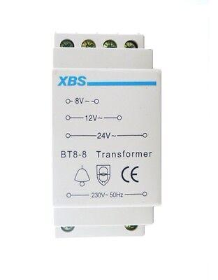 XBS Klingeltrafo 8V 12V 24V Trafo Klingel Transformator bell transformer NEU