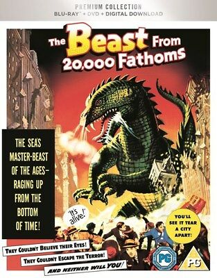 THE BEAST FROM 20,000 FATHOMS - UK Exclusive - Blu Ray & Dvd -