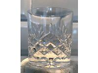 Set of 4 Edinburgh Crystal Whiskey (Whisky) Glasses - Vienna Range