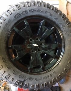 2016 or later Chev Colorado Midnight Edition tires and wheels
