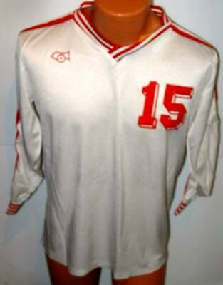 Cannon  Soccer Rugby   Team Gear jersey large white large # 15
