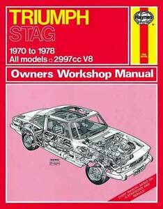 Triumph Stag 1970 - 1978 Haynes Owners Service & Repair Manual Blacktown Blacktown Area Preview