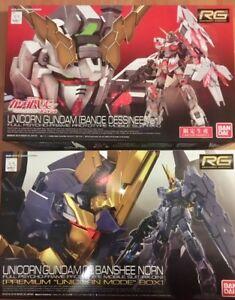 RG 1/144 Gundam Models