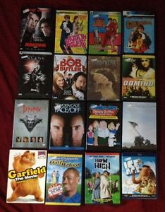 Movies $4 each, or 3 for $10, or best offer
