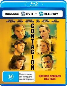Contagion (Blu-ray ONLY )  LIKE NEW
