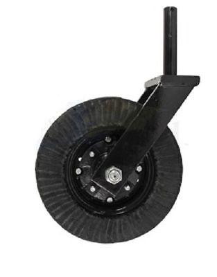 Tail Wheel Assembly Fits 1 12 Shank 4.25 Usable Shaft Bush Hog Rhino Woods
