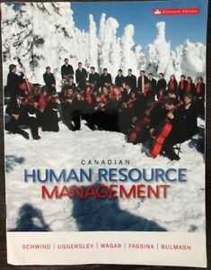 Canadian - HUMAN RESOURCE MANAGEMENT
