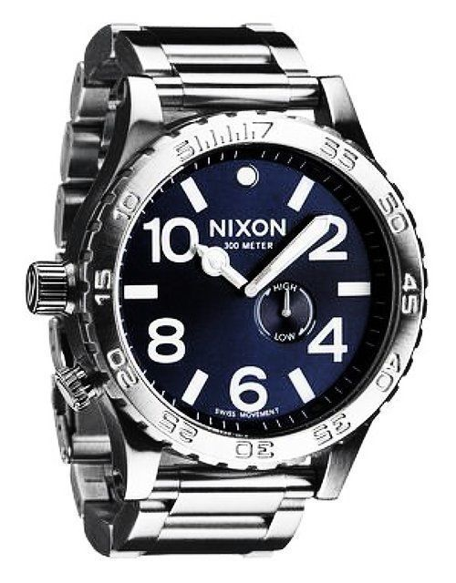 top nixon watches the 51 30 watch for men is large and bold it is available in two styles the 51 30 chrono which features a subdial chrono and a special chromocoat