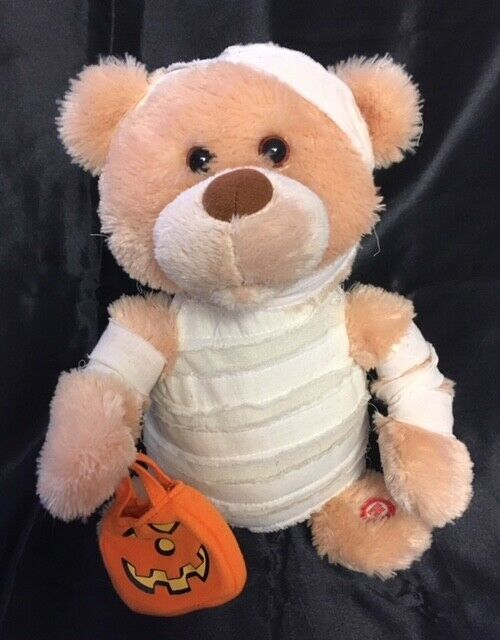 Singing Animated MUMMY BEAR Plush Sunny Toys THRILLER Halloween Figure LC