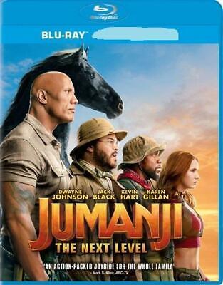 Jumanji: The Next Level (Blu-ray Disc + Case+ Slip, 2019) Never Viewed