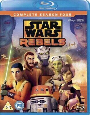 NEW Star Wars Rebels Season 4 Blu-Ray