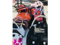 JOB LOT OF BRAND NEW LADIES HANDBAGS (500) WITH TAGS. MUST SEE. £999