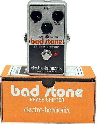 New Electro-Harmonix EHX Bad Stone Analog Phase Shifter Effects Pedal