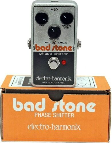 new electro harmonix ehx bad stone analog phase shifter effects pedal 683274011639 ebay. Black Bedroom Furniture Sets. Home Design Ideas