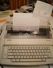 Brother Electronic Typewriter AX- 100