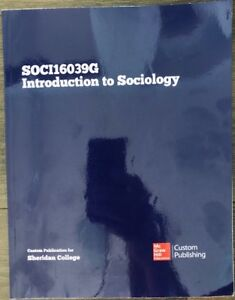 Introduction to SOCIOLOGY - SOCI16039G