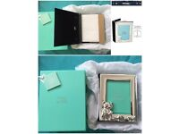 Silver frame and photo album