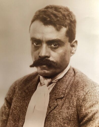 Mexican Revolution General Emiliano Zapata  Vintage Photo  16x20