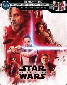 Star Wars The Last Jedi Steelbook