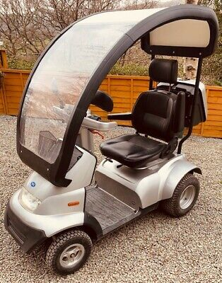 TGA Breeze S4 GT 2015 All Terrain Electric Mobility Scooter Only 165 Miles 8MPH