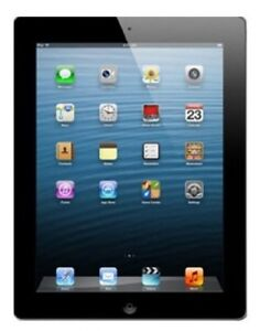 "Apple iPAD 4 10"" Retina Display WiFi 16GB Tablet - Black-"
