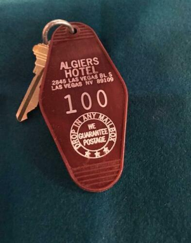 ALGIERS  HOTEL , LAS VEGAS STRIP,  NEVADA  ROOM KEY & FOB