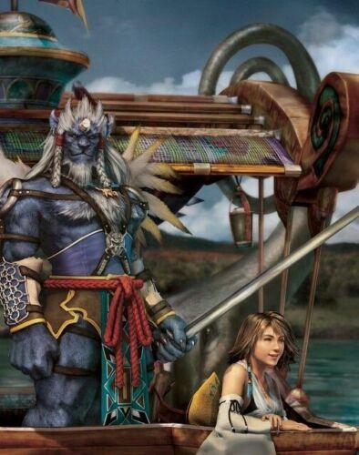 FFX KIMAHRI WALL SCROLL - Final Fantasy X - ANIME - NEW - KOTO INC