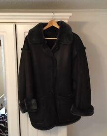 Ladies sheepskin coat