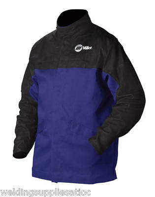 Miller 231082 30 Combo Clthle Welding Jacket Sz Large