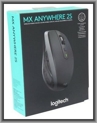 Logitech Mx Anywhere 2S Wireless Mobile Mouse  New In Retail Box
