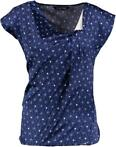 Vila joy blauw glanzend blouse shirt Maten: L,XL