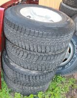 Jeep tJ winter rims and tires 235/75/15's