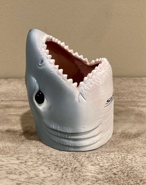 Sea World Shark Head Can Koozie Underwater Grill Can Holder 2003