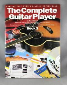 The Complete Guitar Player book 3 and CD By Russ Shipton as new