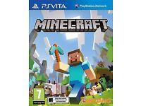 Minecraft Playstation Vita