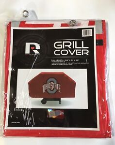 Ohio State Buckeyes Economy Team Logo BBQ Gas Propane Grill Cover - NEW
