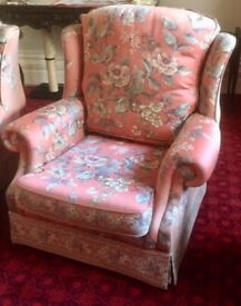 A Pair of Comfortable Rest Assured Armchairs