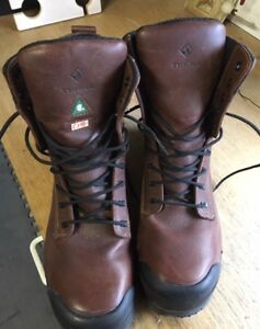 Brand New Men's Size 14 Terra Marauder Safety Boot with Side Zip