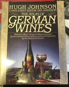 The atlas of German wines by Hugh Johnson