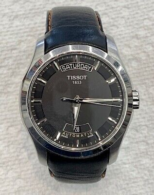 TISSOT Couturier Day-Date Automatic, T035407 Stainless Steel 40mm Watch