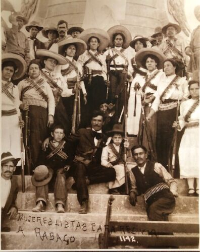 "Mexican Revolution Women Soldiers ""Soldaderas"" Vintage Photo 16x20"