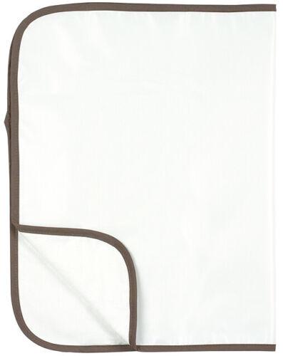 Kushies Baby Waterproof Organic Cotton Deluxe Changing Pad - White