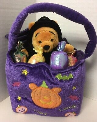 Halloween Stores In (Halloween POOH BAT Plush In Candy TREAT BAG 8