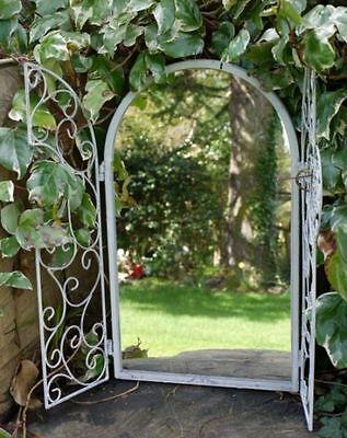 Victorian garden mirror