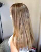 great prices on highlights and all  hair services