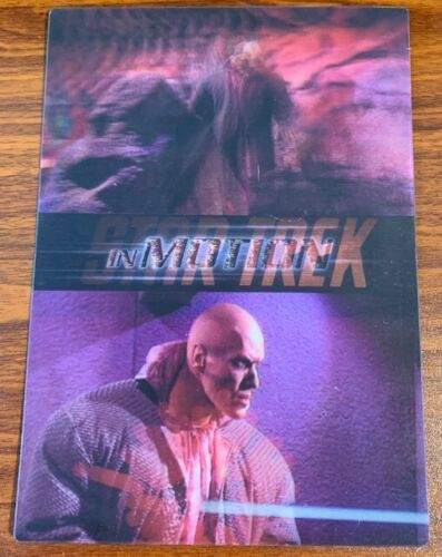 1999 Rittenhouse Star Trek Motion #8 What are Little Girls Made of Free Shipping