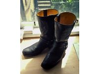 Grinders BALD EAGLE Biker Boots (UK 11)