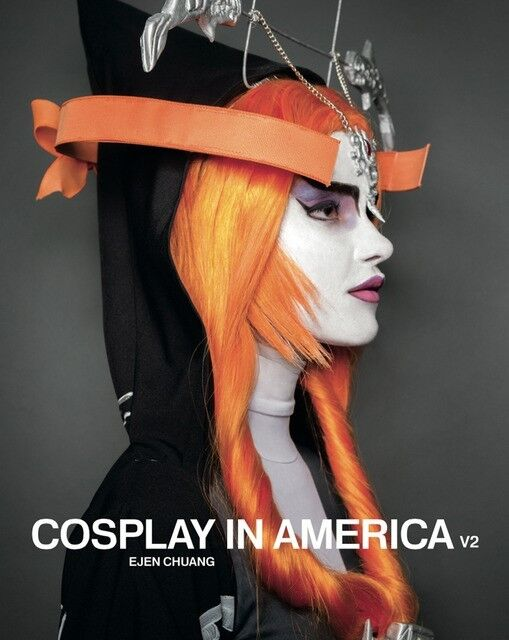 """COSPLAY in AMERICA V2 Volume 2 - Ejen Chuang fandom costumes 8"""" x 10"""" Hardcover"""