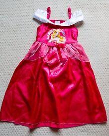 Disney Princess Aurora dress up dress age 5-6